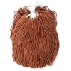 Seedbead Metallic Copper 11/0 Strung